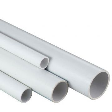 "1.5"" White ABS Class C Pipe - 1.5 metre length"